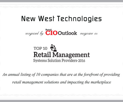 New West Technologies Named In Retail CIO Outlook's Top 10 Retail Management Systems Solution Providers 2016