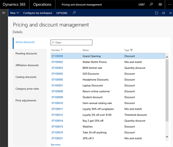 Microsoft Dynamics 365 Pricing and Discount Management