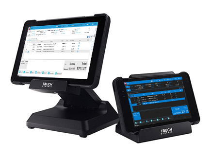 Touch Dynamic Quest Tablet with RMH Point of Sale Software