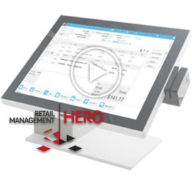 Retail Management Hero POS Demo Video