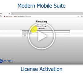 Tutorial - Modern Mobile Suite License Activation