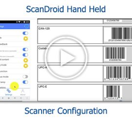 Tutorial - ScanDroid Hand Held Scanner Configuration