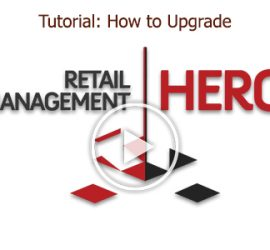 Tutorial: How to Upgrade Retail Management Hero