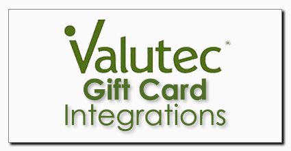 Valutec Gift Integrations