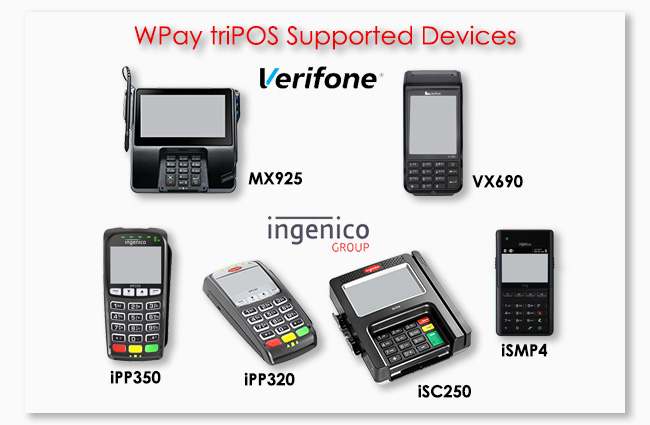 Worldpay WPay triPOS Devices