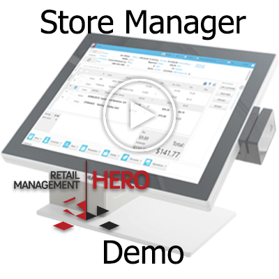 Demo: Retail Management Hero Store Manager Review